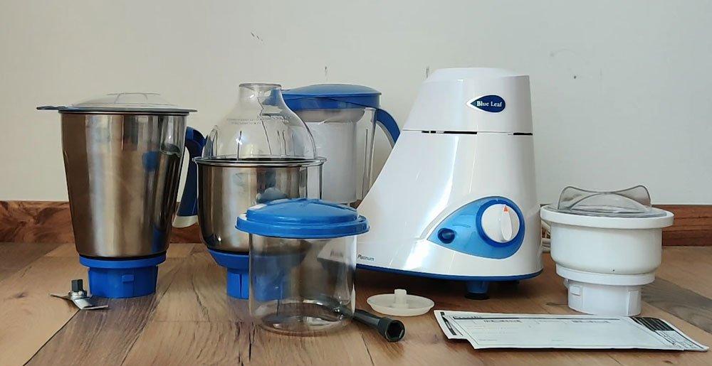 best mixer grinder in India- Philips Blue Leaf series